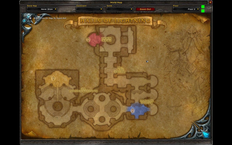Cámaras de Relámpagos mapa 2