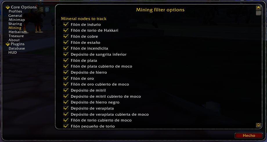 gatherer-options-mining