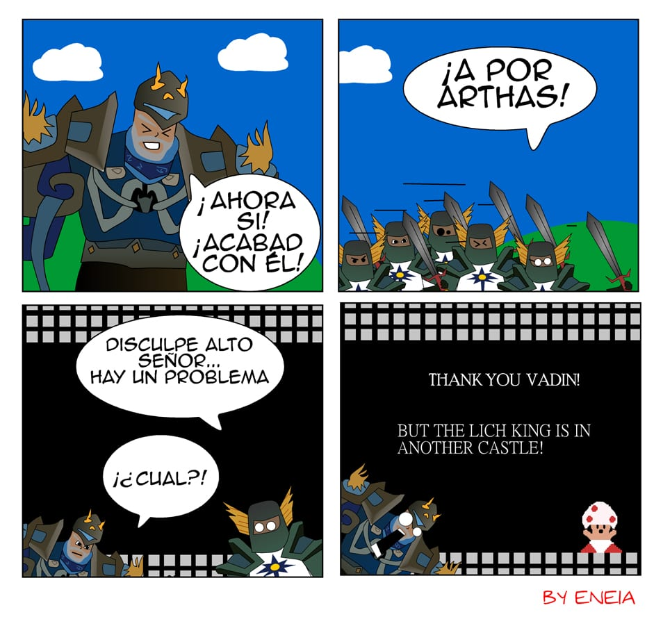 LoL of Warcraft Capitulo 9