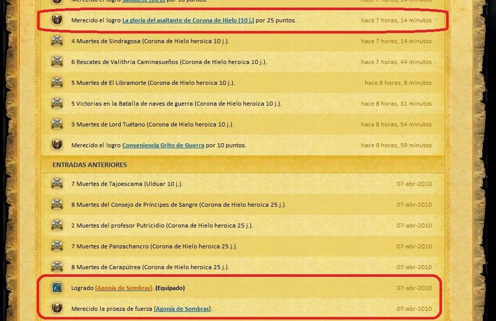 logros_agonia