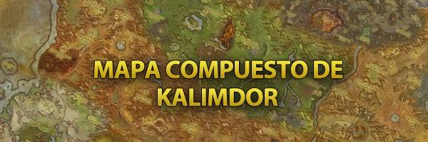 Mapa compuesto Kalimdor Cataclysm