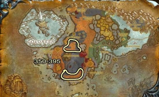 Tundra Boreal map