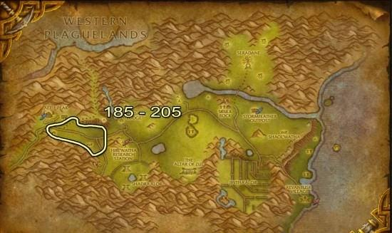 Hinterlands Skinning map