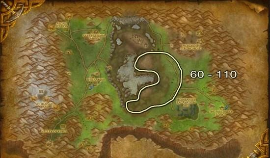 Loch Modan Skinning map