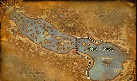 Las Mil Agujas Skinning map