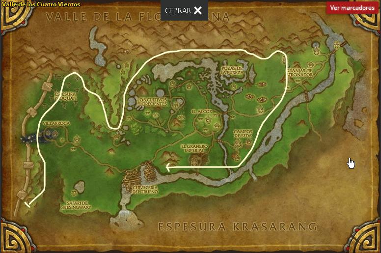 Valle de los Cuatro Vientos- Ghost Iron Ore map