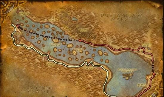 Thousand Needles Herbalism map