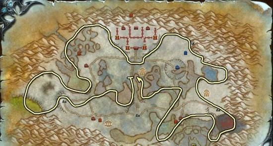 Wintergrasp map