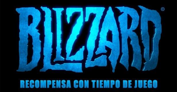 Blizzard recompensa con tiempo de juego
