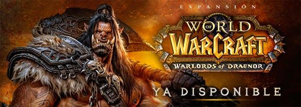 Warlords of Draenor ya disponible