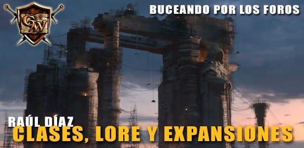 Clases Lore y Expansiones