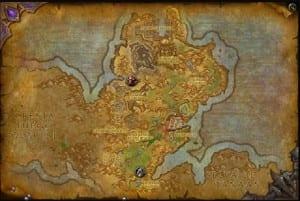 Mapa Gorgrond