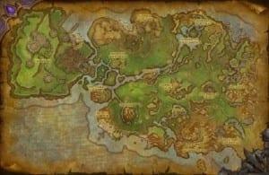 Mapa Nagrand