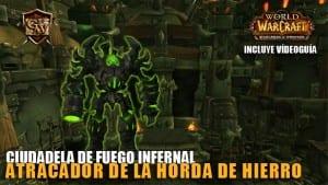atracador de la horda de hierro normal y heroico