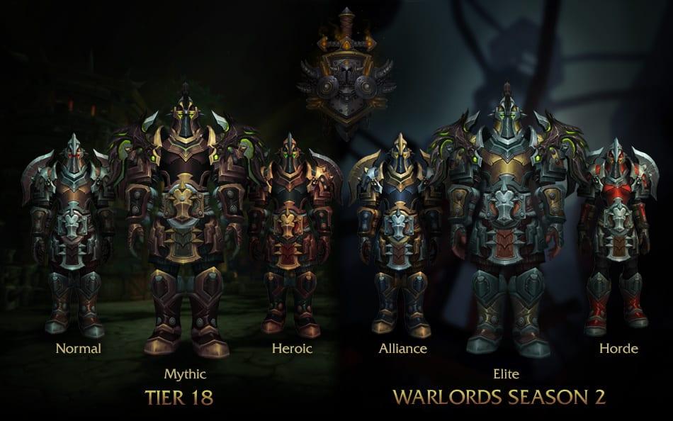 armadura de guerrero parche 6.2