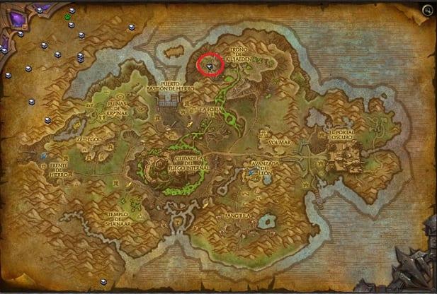 mapa kazzak