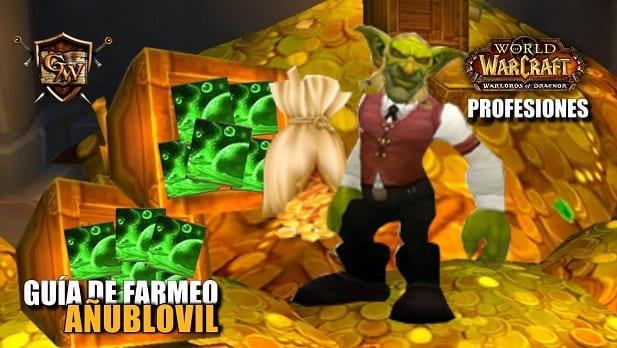 Guía de Farmeo: Añublovil