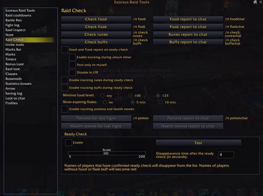 exorsus raid check