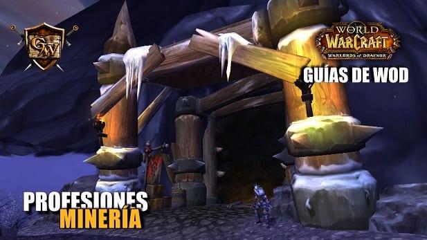 guía de minería de draenor