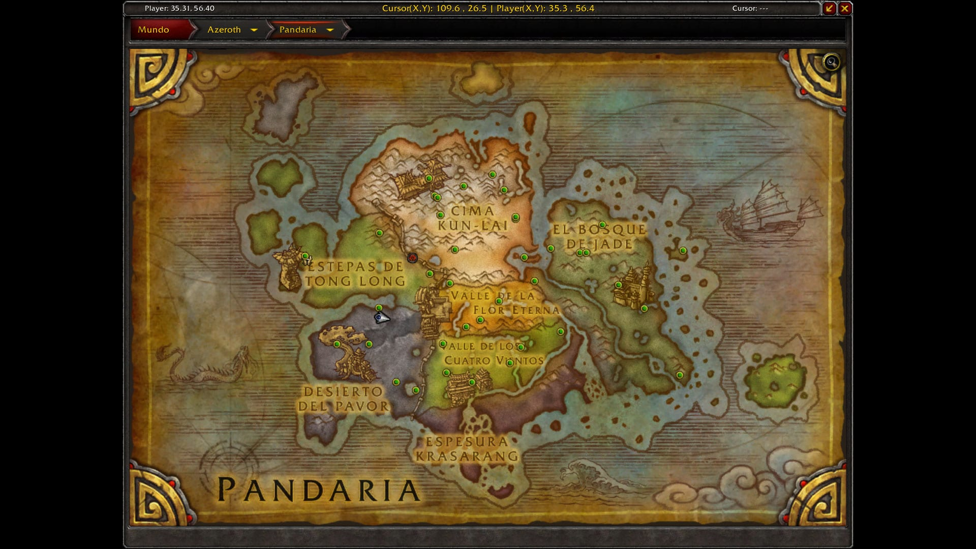 mapa logros