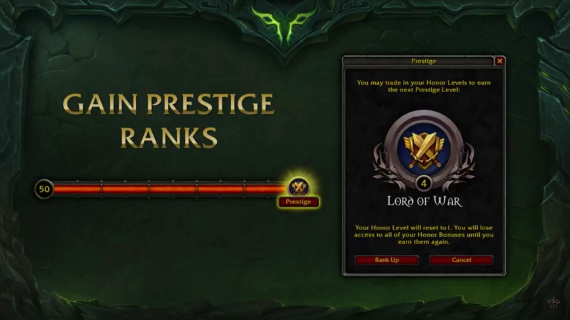 Sistema de honor Prestigio