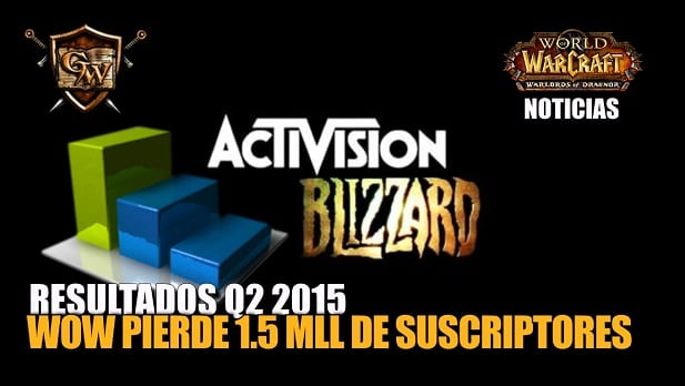 World of Warcraft pierde 1.5 millones de suscriptores