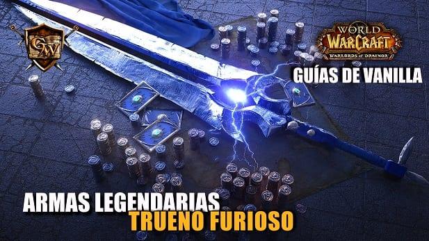 Guía de armas legendarias: Trueno Furioso, espada bendita del Hijo del Viento.