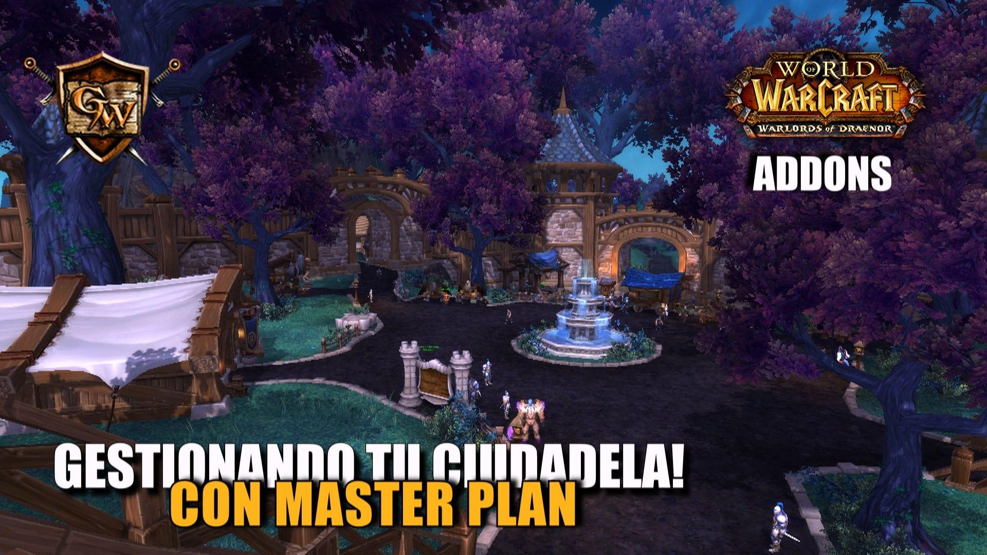Wow addons master plan