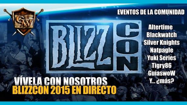 BlizzCon 2015 en Directo