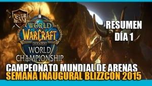 arena world championship dia 1