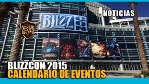 blizzcon 2015 calendario eventos