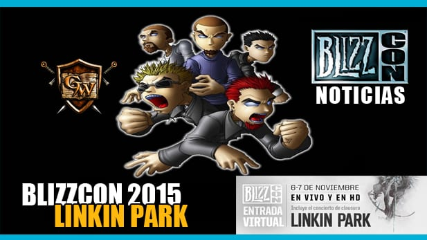 Linkin Park Blizzcon 2015