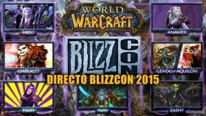 DIRECTO BLIZZCON 2015