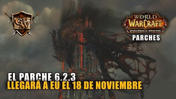 El parche 6.2.3 llegará a EU el 18 de Noviembre