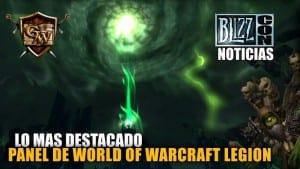 PANEL DE WORLD OF WARCRAFT LEGION