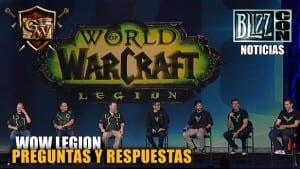 Preguntas y Respuestas Wow Legion - BlizzCon 2015