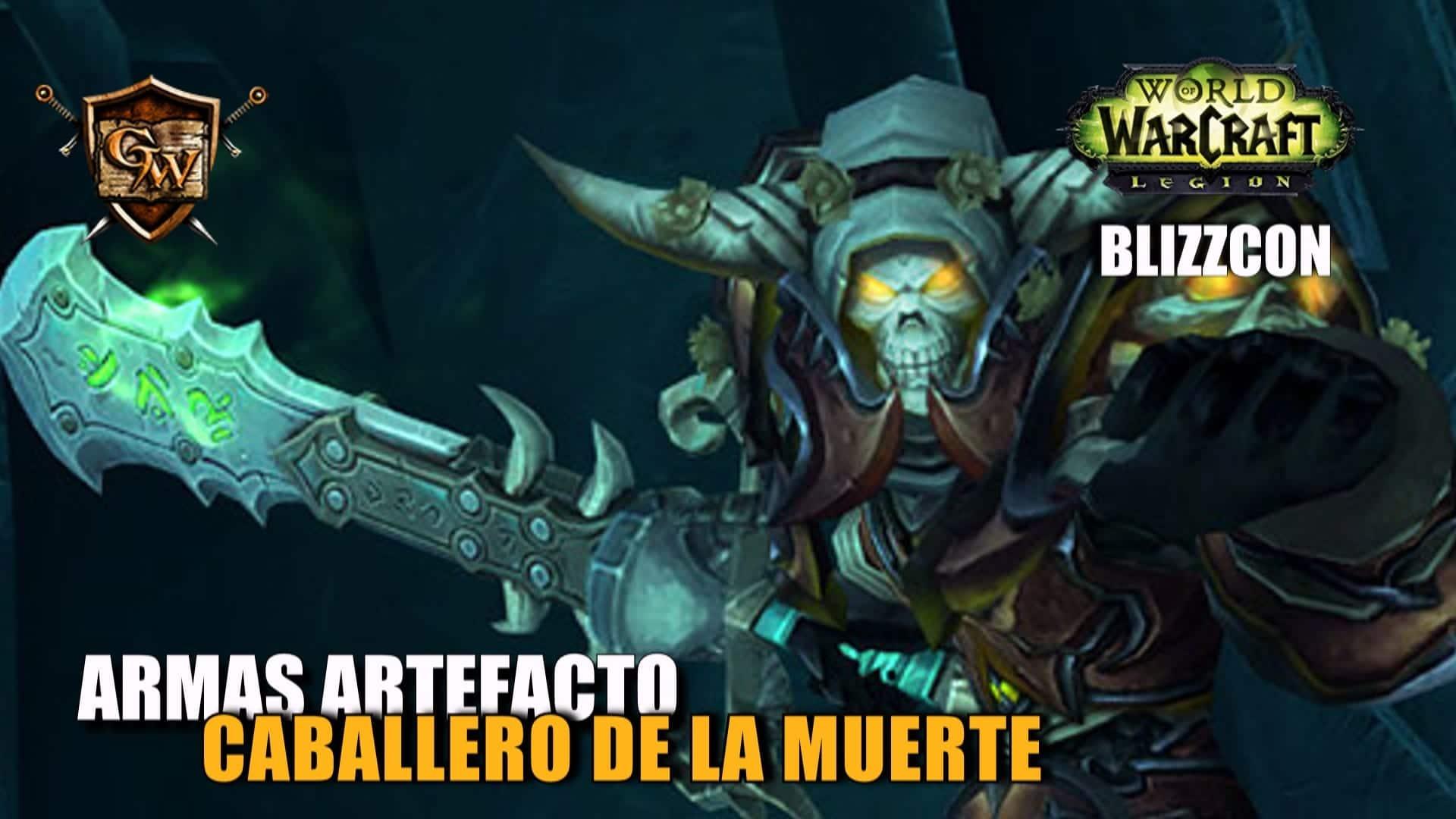 Armas artefacto: Caballero de la Muerte
