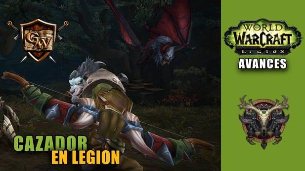 cazador en legion