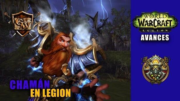 chamán en legion