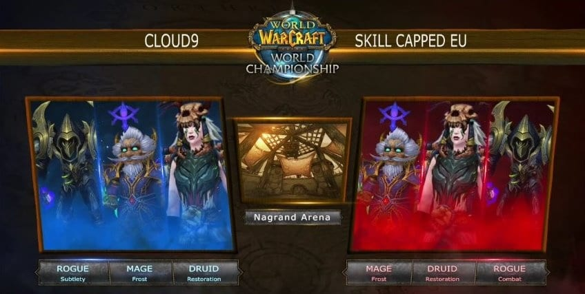 cloud 9 vs skill capped 1