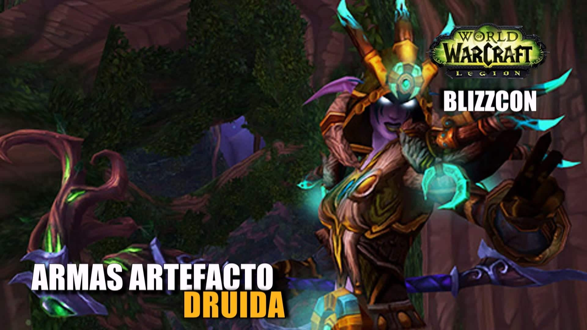 Armas artefacto: Druida