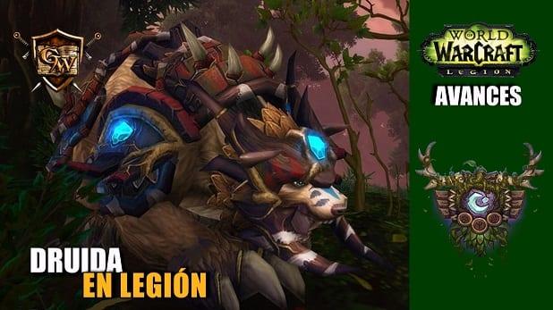 Cambios para el Druida en Legión – Avances