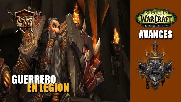 guerrero en legion
