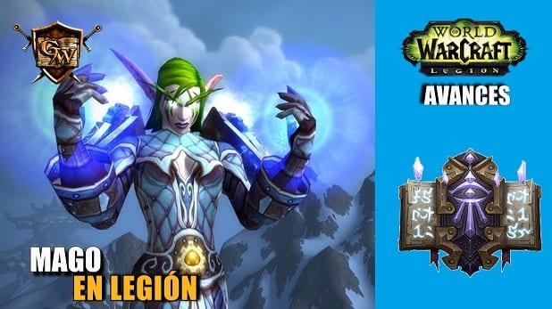 Cambios para el Mago en Legion – Avances