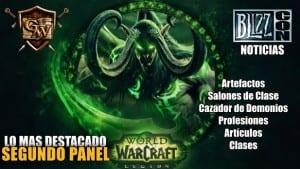 Segundo Panel Wow Legion