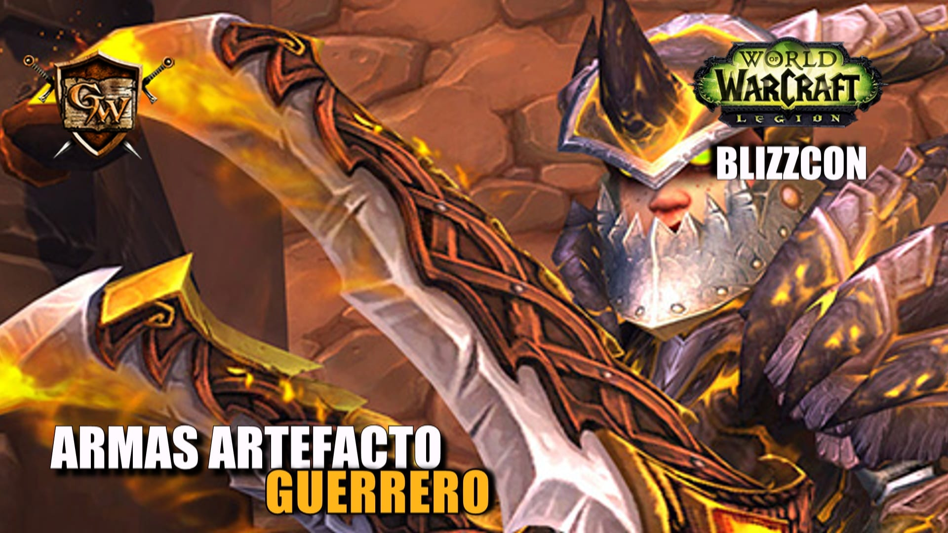 Armas artefacto: Guerrero