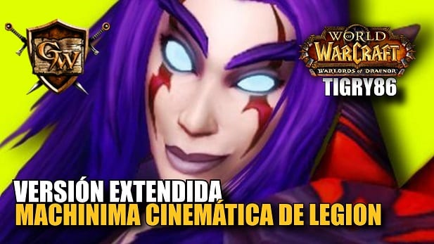 Machinima Cinemática de Legion
