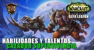 cazador supervivencia en legion