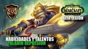 paladín represión en legion
