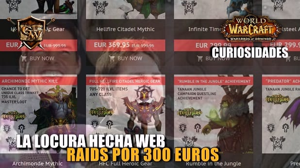 La locura hecha web: Raids por 300 euros